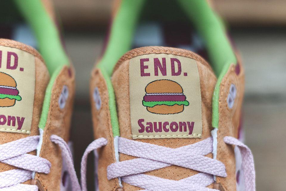 END. x Saucony Shadow 5000 'Burger'