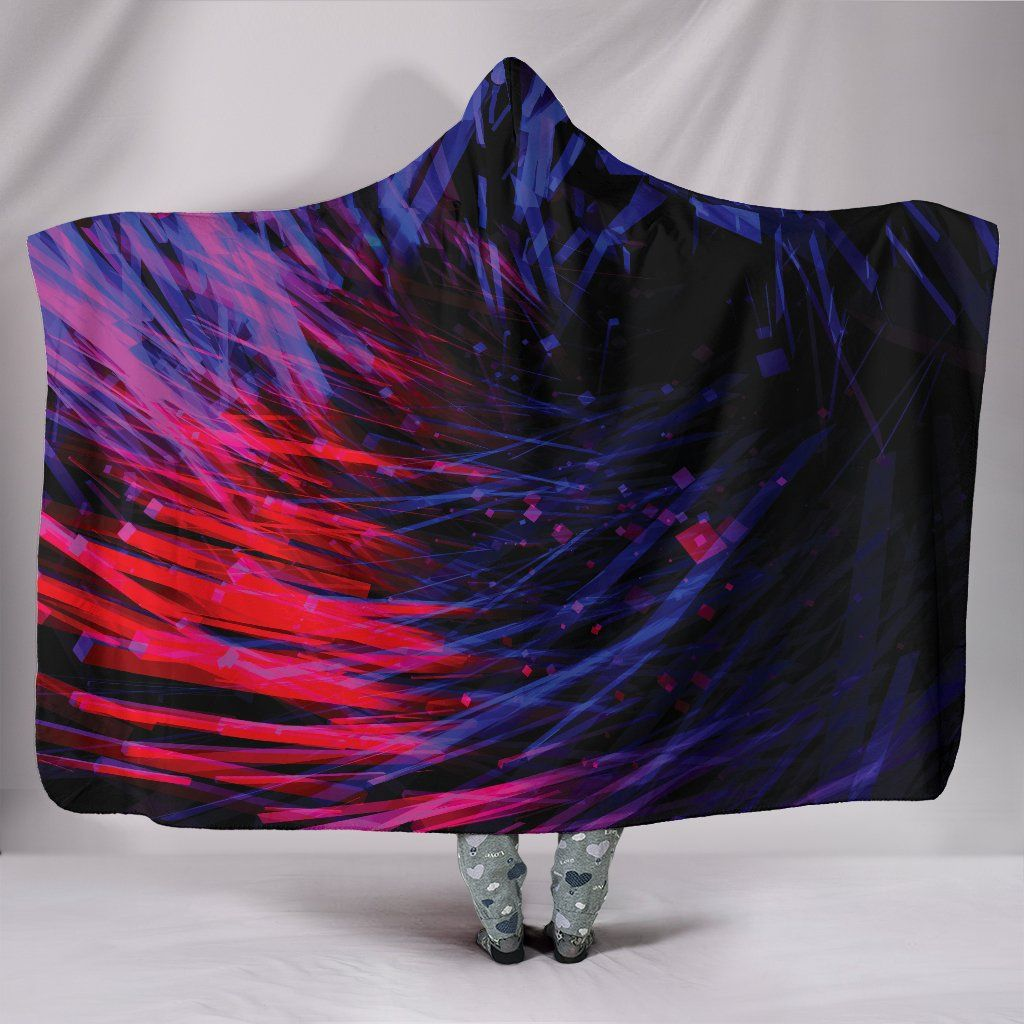 Photo of Endless Void – Hooded Blanket – Endless Void / Adult 80×60