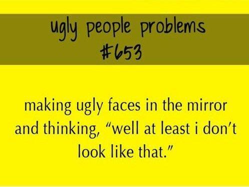 Ugly People Problem (a.k.a TMC problem #653)