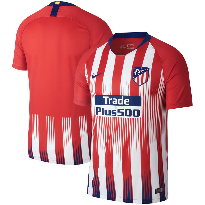 5db185518b7 Atletico de Madrid Nike 2018 19 Home Stadium Replica Jersey – Red ...