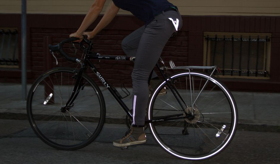 4b6f238420 Women's Gray Bike to Work Jeans - Betabrand - $118. Like the product? Fund  it now and save up to 30%!