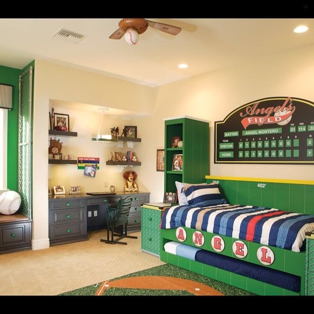 enjoyable bedroom designs for kidschildren. 16 Enjoyable Transitional Kids  Room Designs Any Child Would Love is a new interior collection from our recent transitional design showcase A baseball themed room Credit to Eagle Luxury Properties