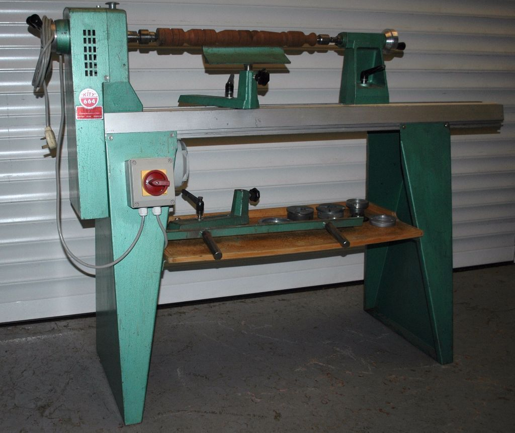 Here for sale is this used Kity 664 Variable speed ...