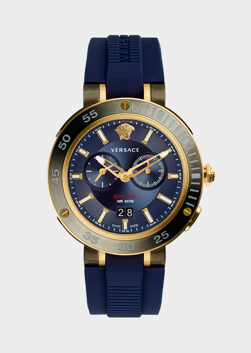 685cff72433 Versace Blue V-Extreme Pro Watch for Men