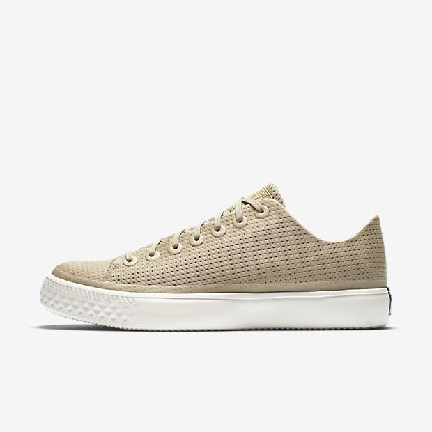 nike blazer low trainers in beige suede with gum sole converse