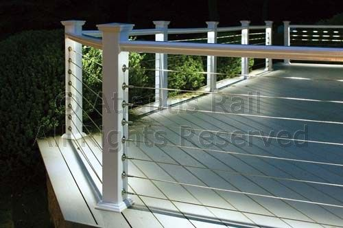 Cable Deck Railing Designs | Any deck with a great view can ...