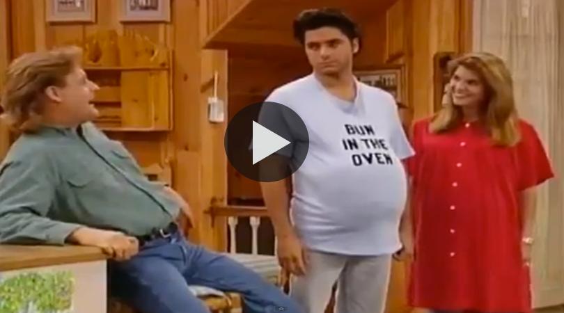 Tv Mom Tuesday Pregnant For A Day Tv Moms Full House Videos Full House
