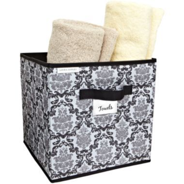 High Quality $12.00 Kennedy Damask Storage Bin Found At @JCPenney