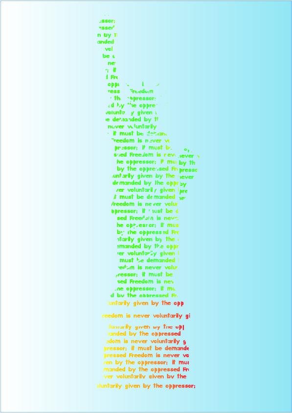 Regilio - Poster Typografie