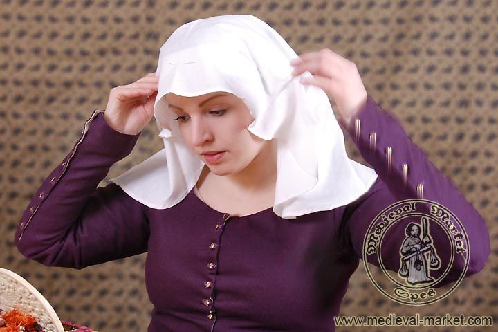 i love historical clothing: Medieval headwear