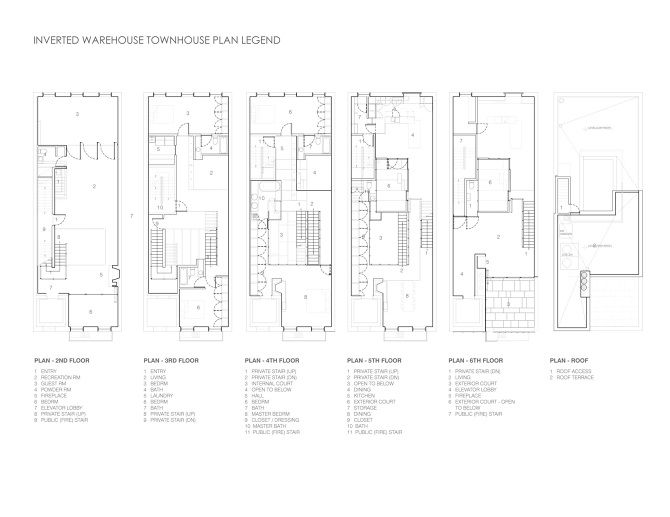 Inverted Warehouse/Townhouse - Dean/Wolf Architects