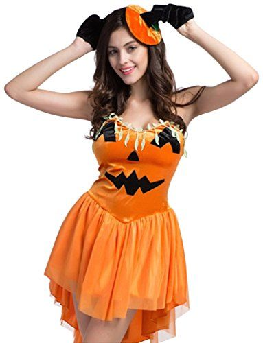 Pumpkin Princess Adult Womenu0027s Halloween Costume Fancy Dress Outfit CJ Apparel  sc 1 st  Pinterest & Pumpkin Princess Adult Womenu0027s Halloween Costume Fancy Dress Outfit ...