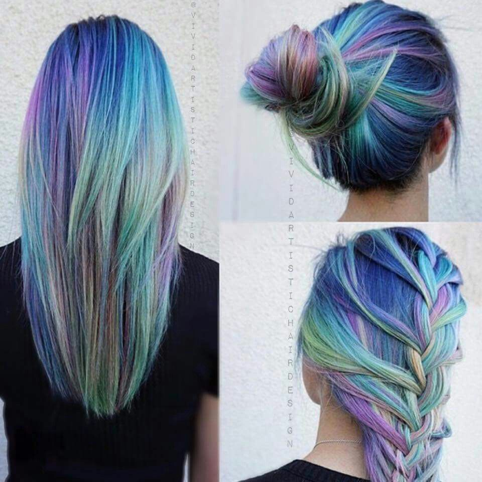 2 Color Hair Dye
