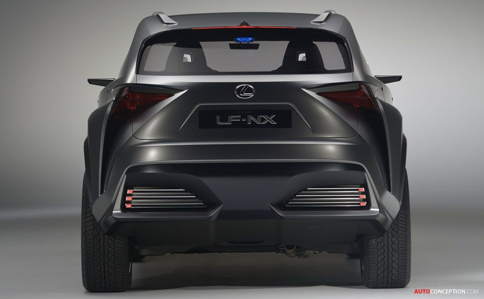Exceptional New LF NX Concept Hints At Potential Compact Lexus SUV Gallery