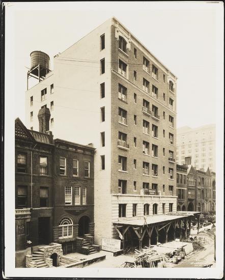 240 west 75th street apartment building under construction