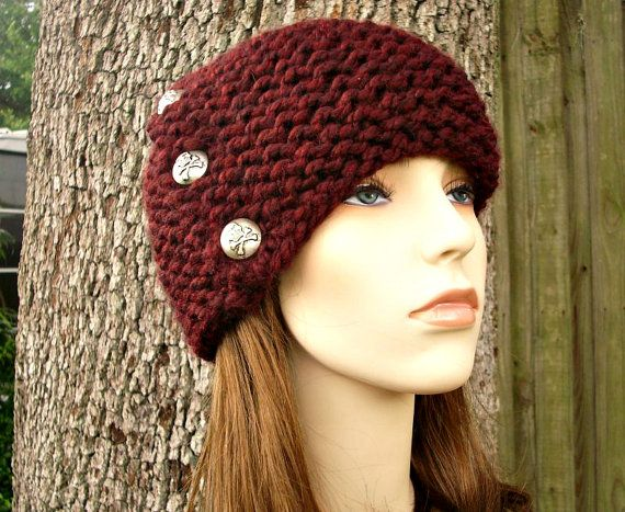 Instant Download Knitting Pattern Womens Hat Pattern Knit Hat