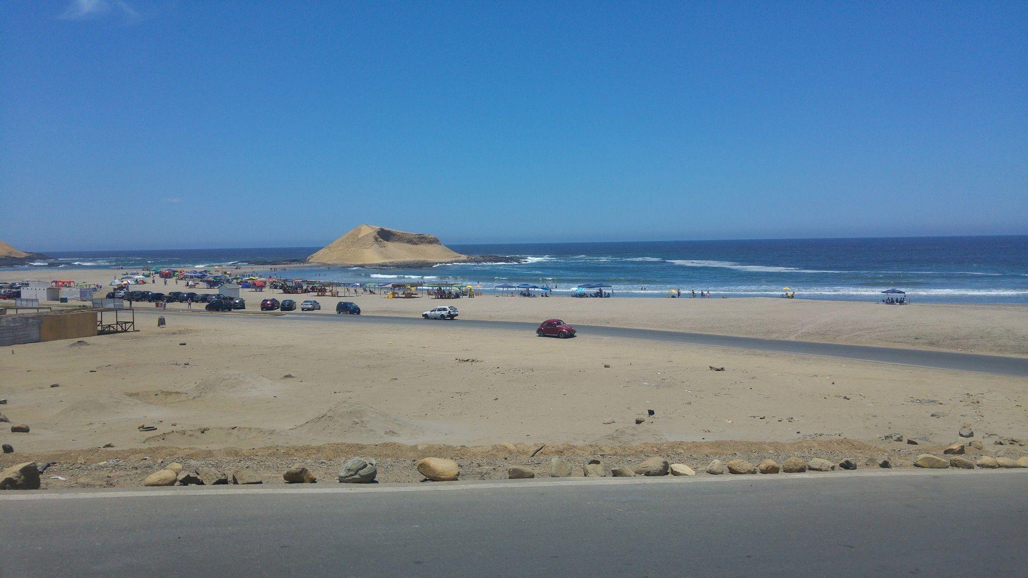 Playa La Isla Barranca Peru Beach Outdoor Country
