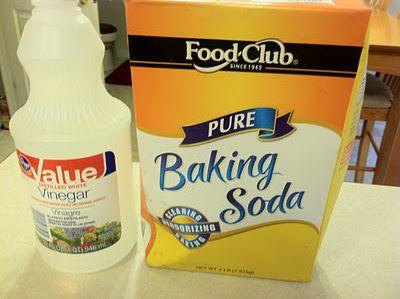 Here S Baking Soda Vinegar Scrub Great For Toaster Oven