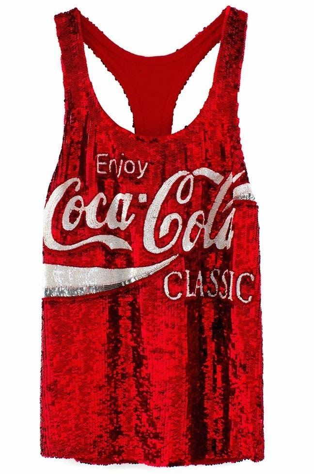 74443af9 High Fashion Coke: Sequin Coca-Cola Logos for Spring 2014 by Marc Jacobs  and Ashish