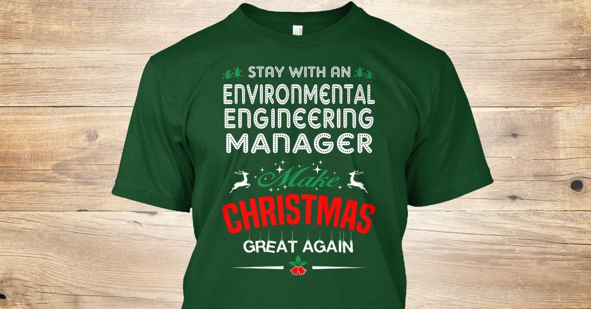 Environmental Engineering Manager  Funny Dads And Hoodies
