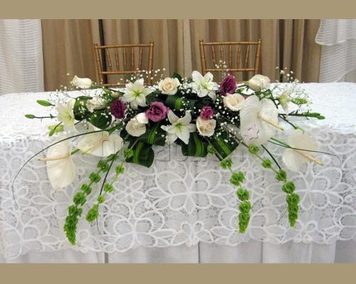 Arreglo floral para la mesa de honor centros de flores bodas arreglo floral para la mesa de honor altavistaventures Image collections