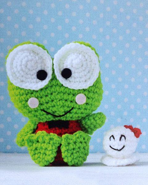 Hello Kitty Crochet Pattern Book Amiguri Pinterest Hello Kitty