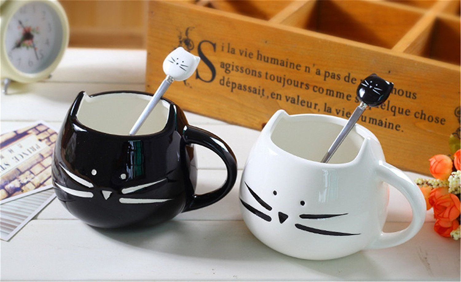 Kitty Cat Matching Male And Female Mugs Tea Coffee Milk Cup Gift Wedding Lover Hug Set Additional Details At The Pin Image Click It This