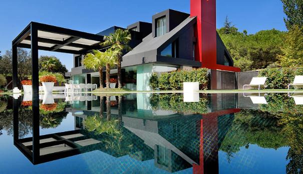 Casa De Lujo En La Moraleja Madrid European Architecture Design Architecture Dream Home Design