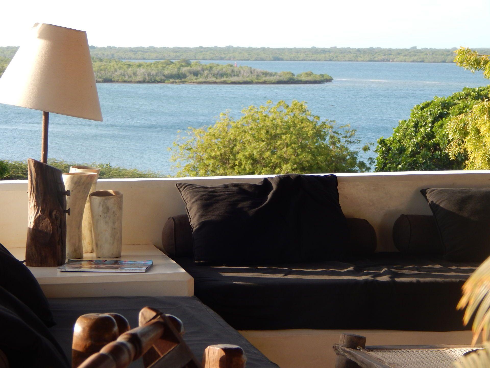 exclusive beach house kenya lamu island fully staffed