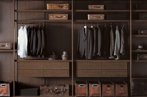 Closet hombres ideas para closet pinterest cl set armario vestidor y vestidor - Armarios diseno italiano ...