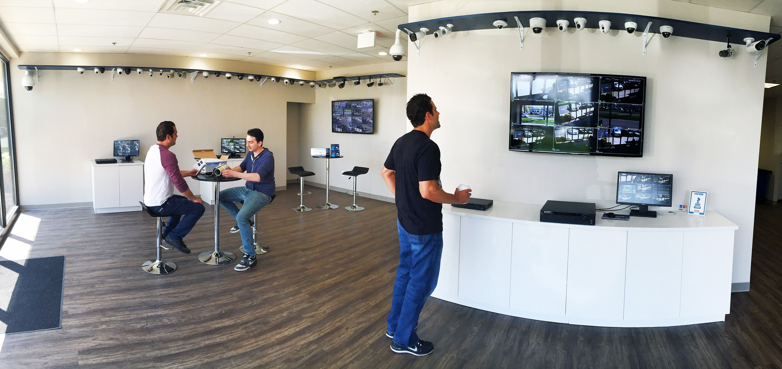 Visit Our New Security Camera Solutions Showroom At 2050
