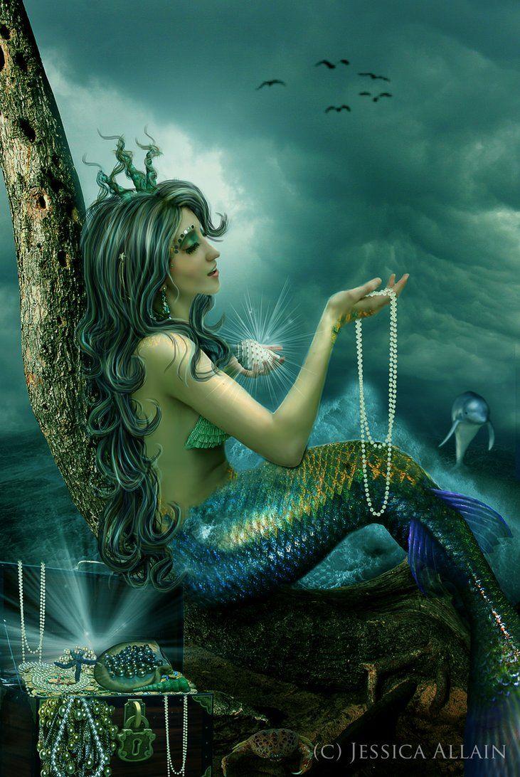 Mermaid's Treasure~ Jessica Allain   Fantasy World   Mermaid