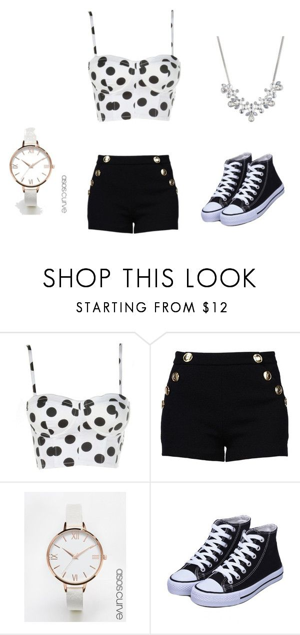 """""""Goin to the beach"""" by thebombdigidy on Polyvore featuring Boutique Moschino, ASOS Curve and Givenchy"""