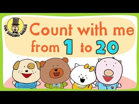 Counting Songs For Kids Prekinders Math Songs Preschool Songs Number Song