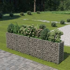 Pin On Products In 2020 Backyard Landscaping Planters Metal Planter Boxes