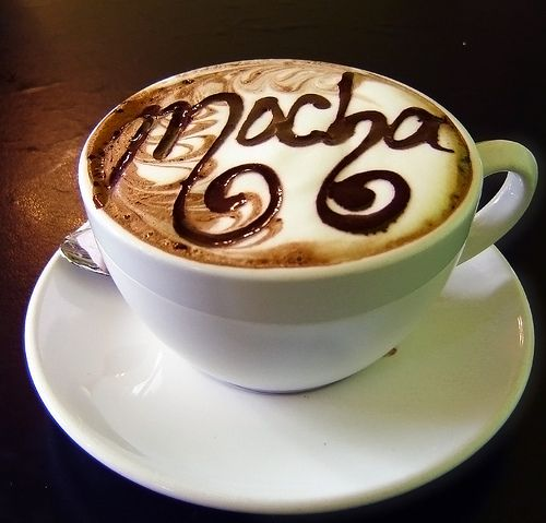 Mocha...AHHHH its mocha; I am such a big fan...You're # 1 Fan. I love you!!!! I have you all over my Kitchen!!!! AHHHH!!!