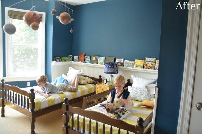 Sherwin Williams Rainstorm Boys Room Reveal Giveaway Boy Room Paint Boys Room Colors Boy Room