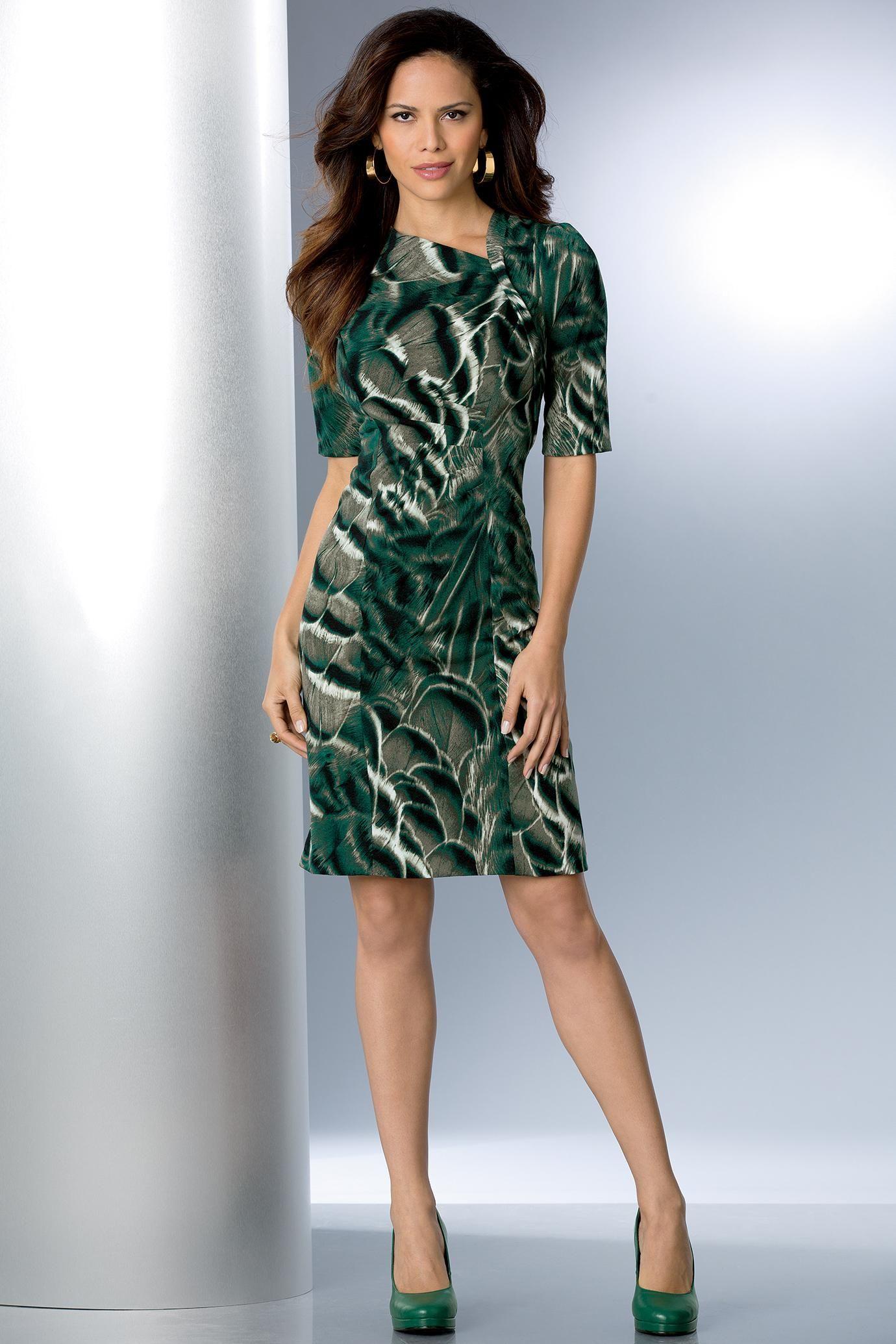 All-Season Animal Print Dress | metrostyle | animal instinct ...