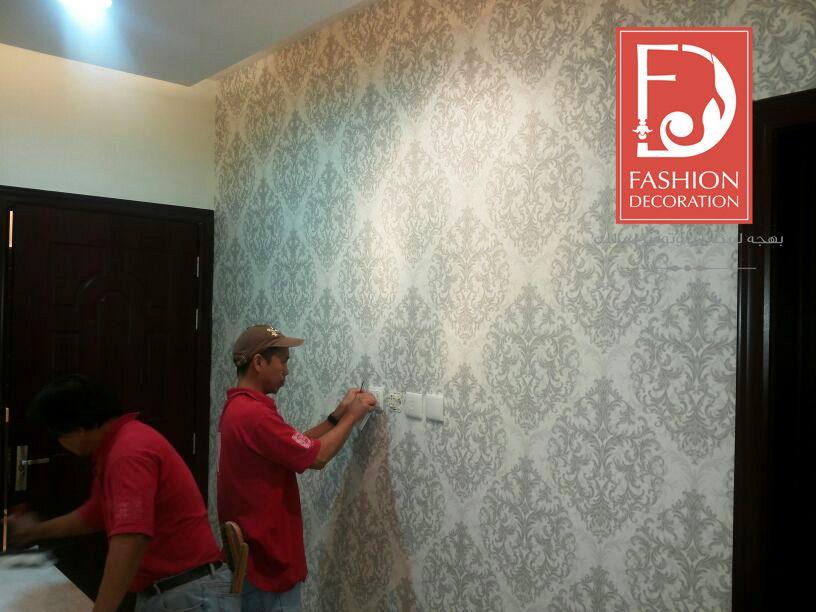 تركيب ورق الجدران على اختصاصيين و بكل احترافية ورق جدران اوروبي 100 Decor Wallpaper ورق جدران ورق حائط ديكور فخامة جمال Decor Styles Style Painting