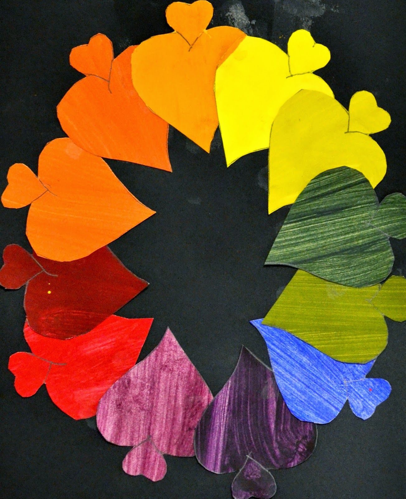7th Grade: Creative Color Wheels | Lessons from the K-12 Art Room