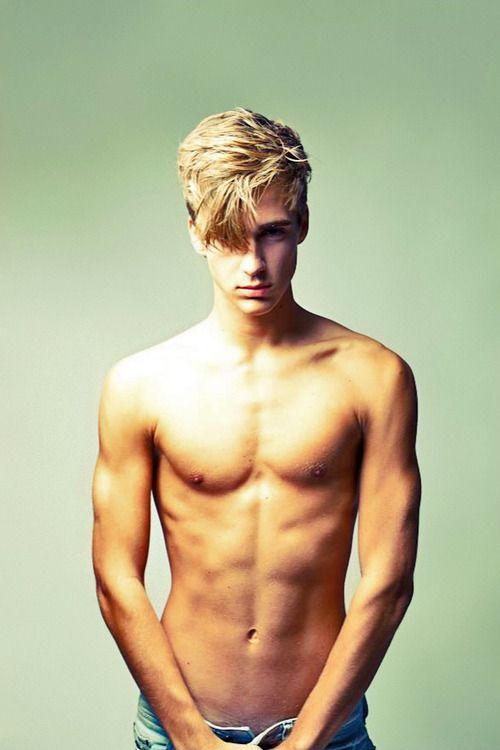 hay Hot blonde