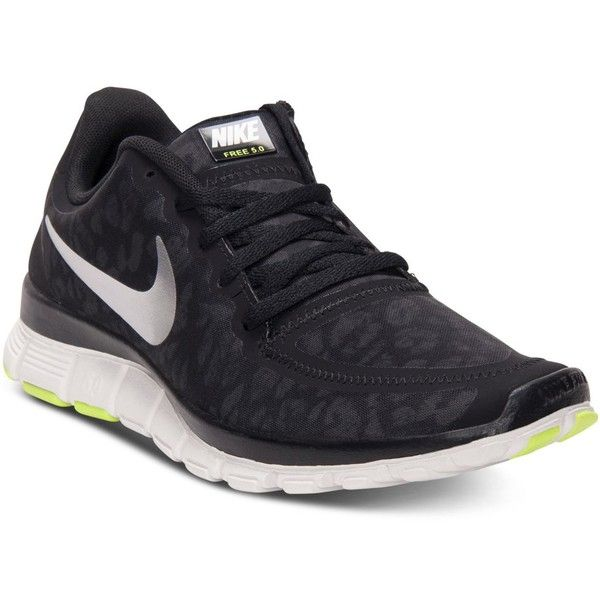 Nike Women's Free 5.0 V4 Running Sneakers from Finish Line ($100) ❤ liked on