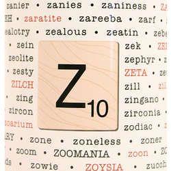 Scrabble Z Words Coffee Mug Best Scrabble Words Scrabble Words Words