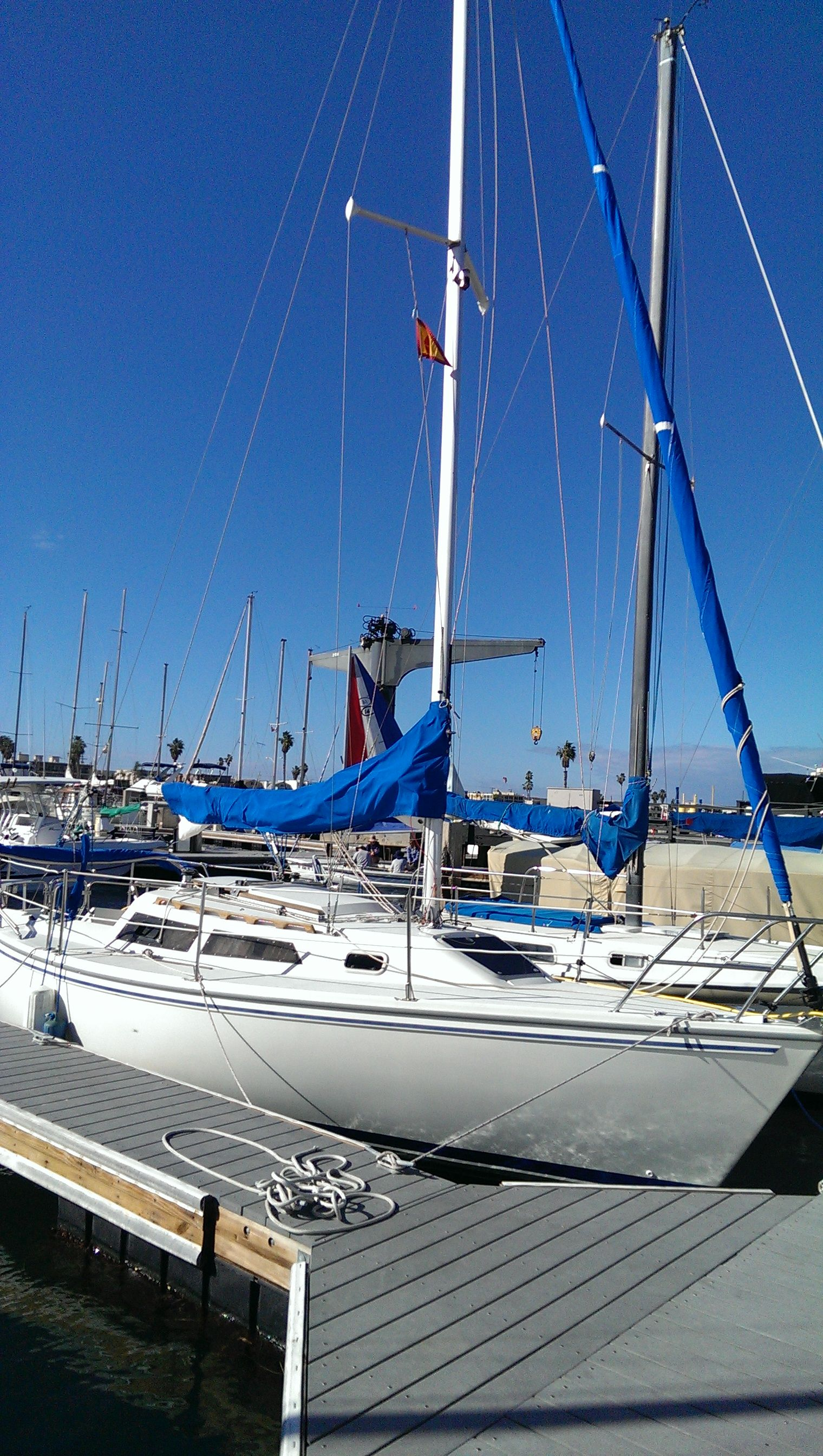 Our sailboat slash beach cabin Sailboat, Sailing ships, Boat