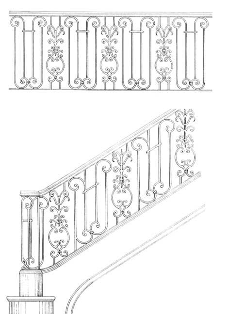Staircase Railings | Iron Railing | Hand Railing Designs
