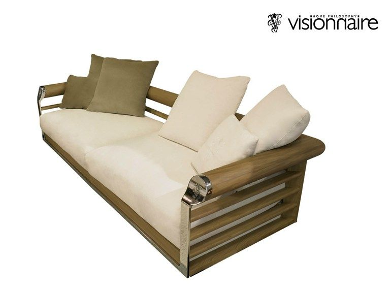 Contemporary style garden sofa GALLOWAY by Visionnaire design - Balou Rattan Mobel Kenneth Cobonpue