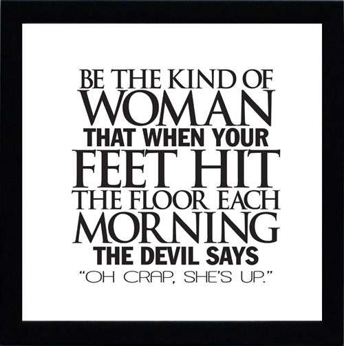 the kind of woman