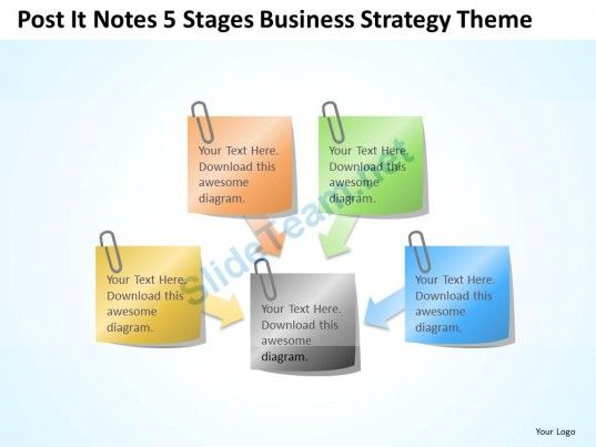Business context diagram post it notes 5 stages strategy theme business context diagram post it notes 5 stages strategy theme powerpoint templates 0523 ccuart Image collections