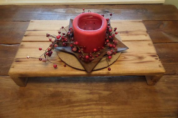 Quot h table riser bench centerpiece tv