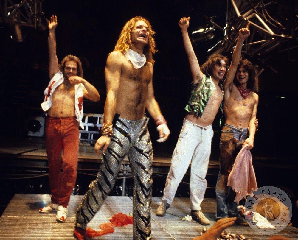 Van Halen Usa 1984 Van Halen Eddie Van Halen Alex Van Halen